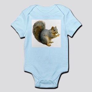 Peace Squirrel Infant Bodysuit