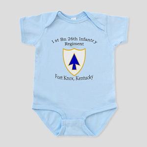 1st Bn 26th Infantry Infant Bodysuit