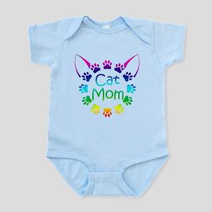 """Cat Mom"" Infant Bodysuit"