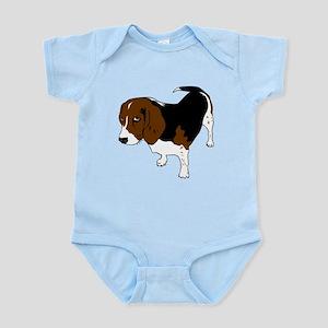 Copper beagle art Body Suit