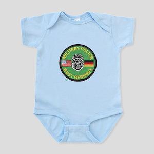 U S Military Police West Germany Infant Bodysuit