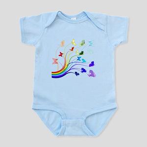 Butterflies Baby Light Bodysuit