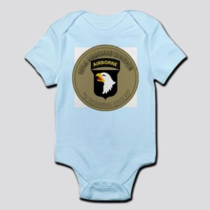 101st airborne screaming eagles Infant Bodysuit