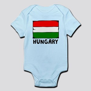 Hungary Flag Body Suit