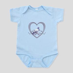 Pigeon in Heart Infant Bodysuit