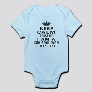 Kuk Sool Won Expert Designs Infant Bodysuit