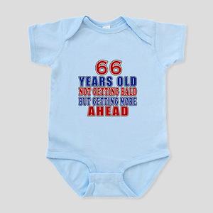 66 Getting More Ahead Birthday Infant Bodysuit