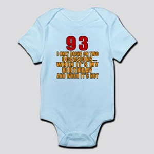 93 Birthday Designs Infant Bodysuit
