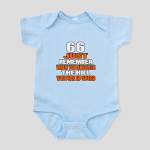 66 Just Remember Birthday Designs Infant Bodysuit