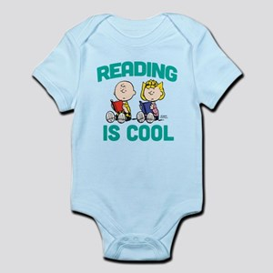 Charlie & Sally Brown-Reading is C Infant Bodysuit