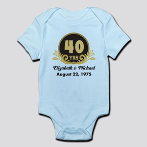 40th Anniversary Personalized Gift Idea Body Suit