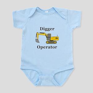 Digger Operator Infant Bodysuit