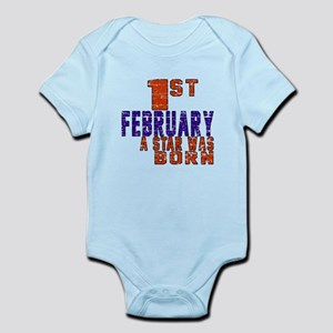 1 February A Star Was Born Infant Bodysuit
