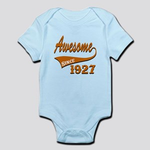 Awesome Since 1927 Birthday Design Infant Bodysuit