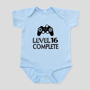 Level 16 Complete Birthday Designs Infant Bodysuit