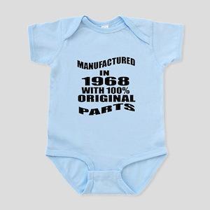 Manufactured In 1968 Infant Bodysuit