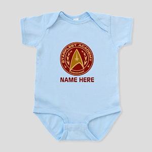 Starfleet Academy Personalized Infant Bodysuit