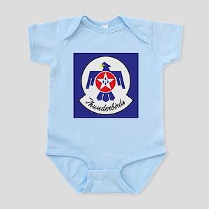 U.Sr Force Thunderbirds Baby Light Bodysuit