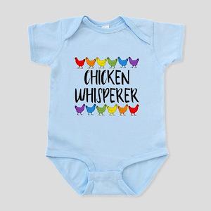 Chicken Whisperer Baby Light Bodysuit