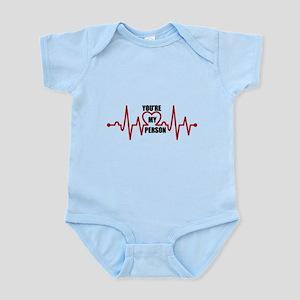 Grey's Anatomy My Person Baby Light Bodysuit