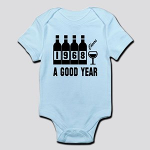 1968 A Good Year, Cheers Baby Light Bodysuit