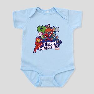 Marvel Team Heroes Baby Light Bodysuit