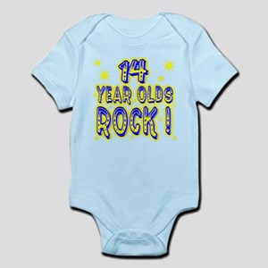 14 Year Olds Rock ! Infant Bodysuit