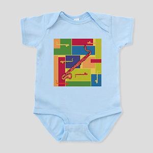 Bass Clarinet Colorblocks Infant Bodysuit