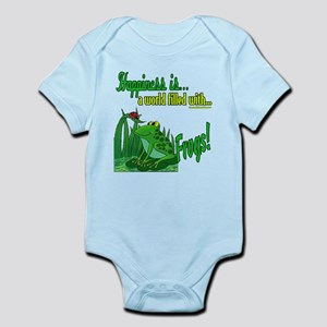 Happiness is a Frog Infant Bodysuit