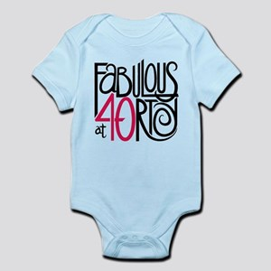 Fabulous at 40rty! Infant Bodysuit