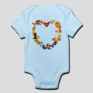 Dog Love Infant Bodysuit