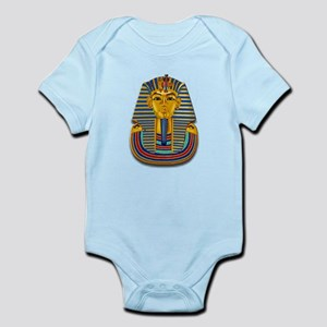 King Tut Mask #2 Infant Bodysuit