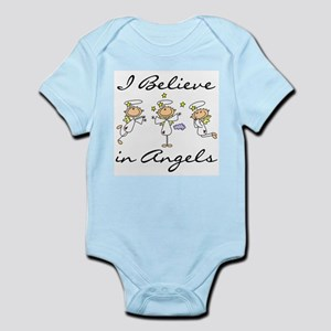 I Believe in Angels Infant Bodysuit