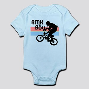 1980s BMX Boy Infant Bodysuit