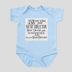 Ask Not Music Director Infant Bodysuit