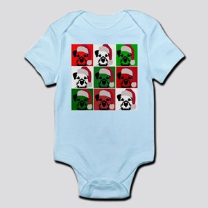 New Warhol Santa hat Infant Bodysuit