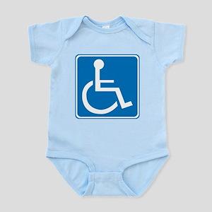 Handicapped Sign Infant Bodysuit