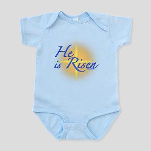 He is Risen Infant Bodysuit