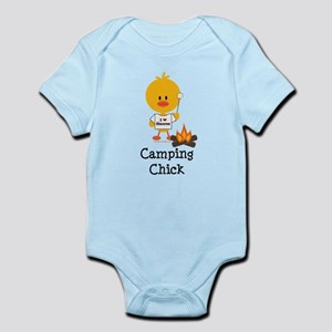 Camping Chick Infant Bodysuit