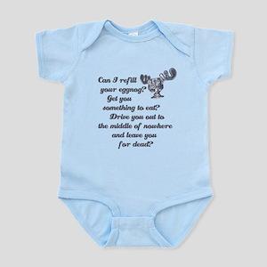 Refill Your Eggnog Infant Bodysuit