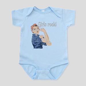 Girls Rock! (vintage) Infant Bodysuit