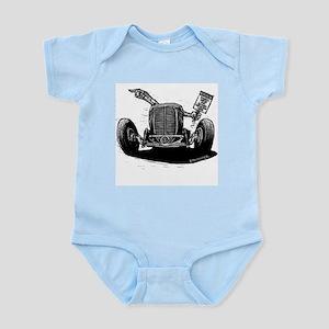 No Trespassing Infant Bodysuit