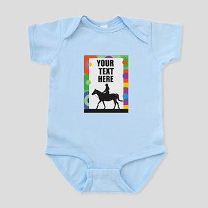 Horse Border Infant Bodysuit