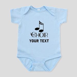 Personalized Choir Musical Infant Bodysuit