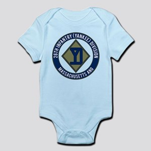 26th Infantry Mass ANG Infant Bodysuit