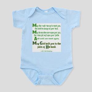 Irish Blessing--Road Rise Infant Creeper