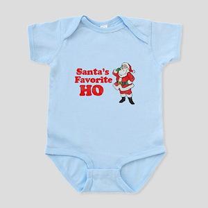 Santa's Favorite Ho! Infant Bodysuit