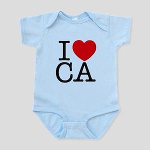 I Heart California Infant Bodysuit