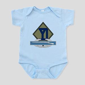 26th Infantry CIB Infant Bodysuit