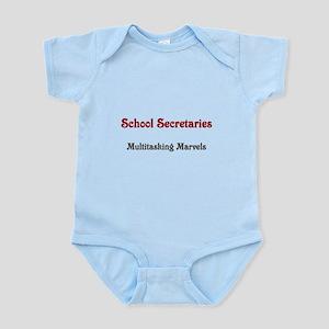 School Sec. Multitasking Marvels Infant Bodysuit